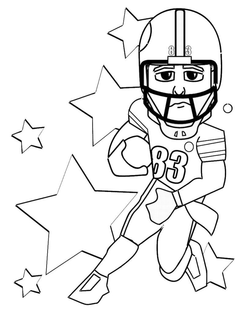 768x1024 Free Printable Football Coloring Pages For Kids Free Printable