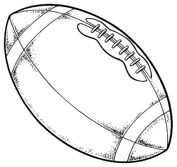 600x568 Printable Football Coloring Pages Football Colouring Pages