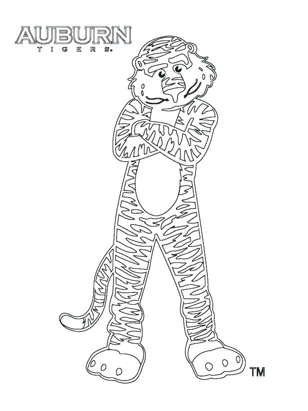618x824 Auburn Coloring Pages Football Jersey Coloring Pages Auburn