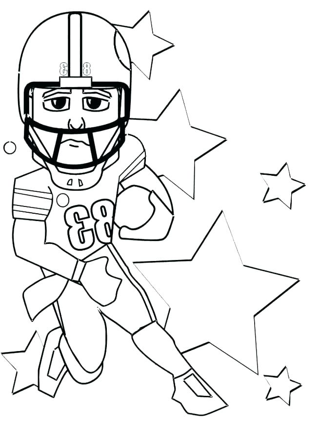 658x877 Football Player Coloring Pictures Football Player Coloring Pages