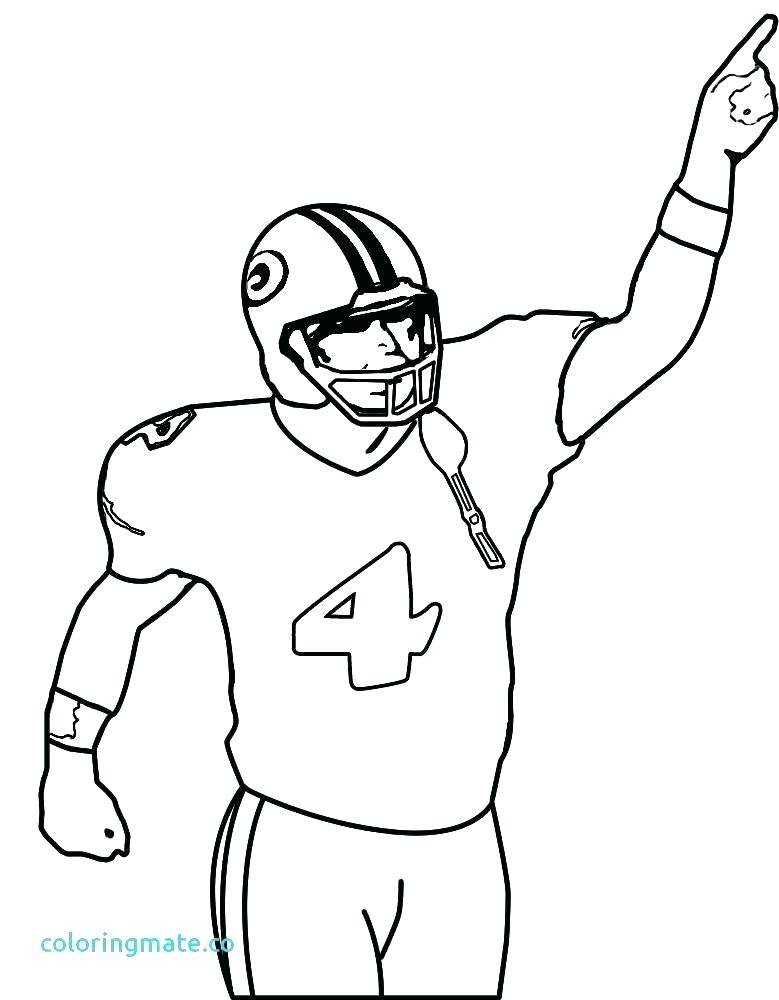 779x1000 Coloring Pages Of Football Players Printable Football Player