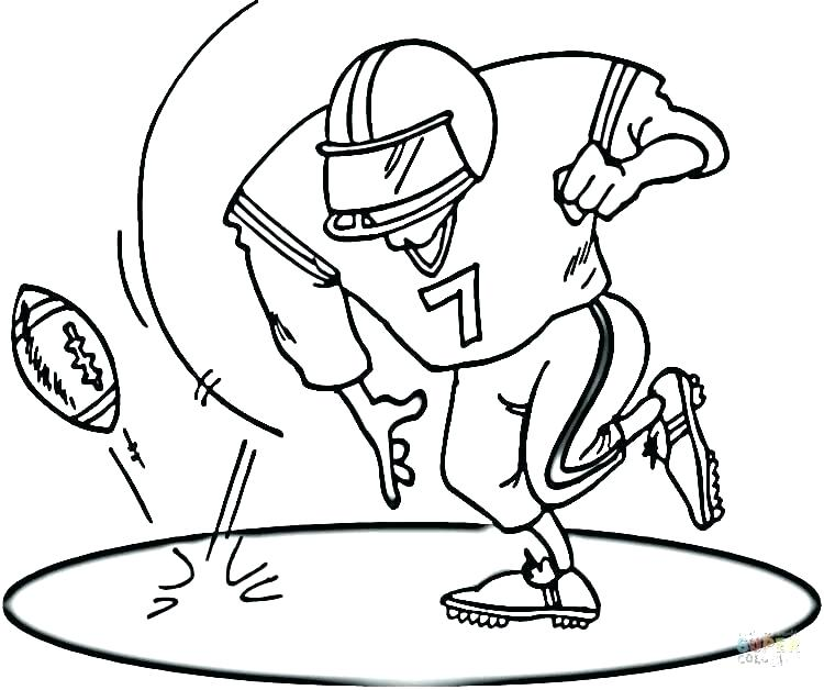 750x628 Boy Playing With Boy Playing Football Coloring Page Football