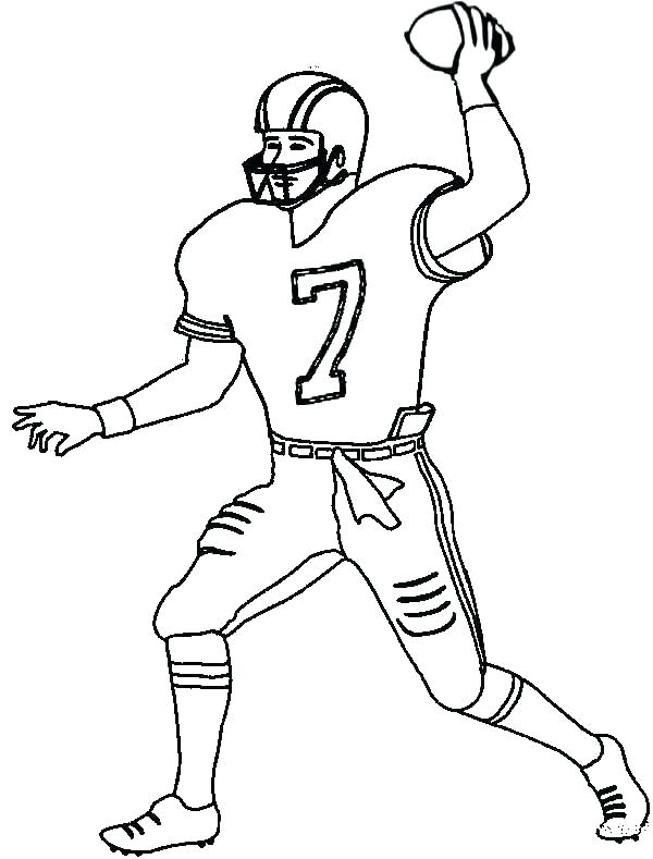 600x789 Coloring Pages Football Football Field Coloring Pages Football