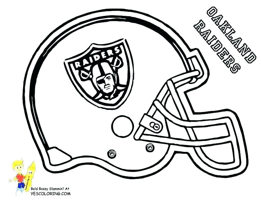 840x649 Football Team Logos Coloring Pages Football Logo Coloring Pages
