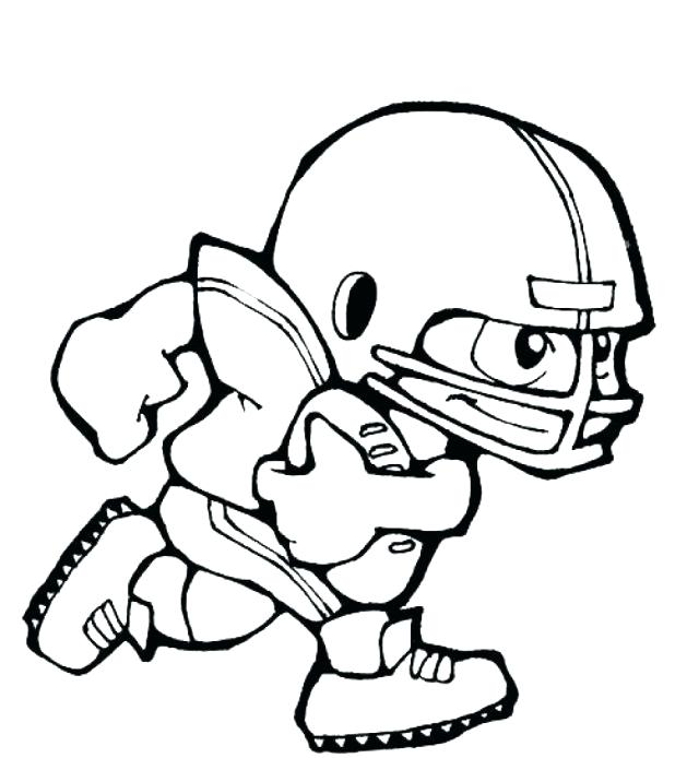 618x694 Coloring Pages Football Teams