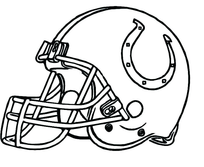 700x571 Football Helmet Coloring Pages