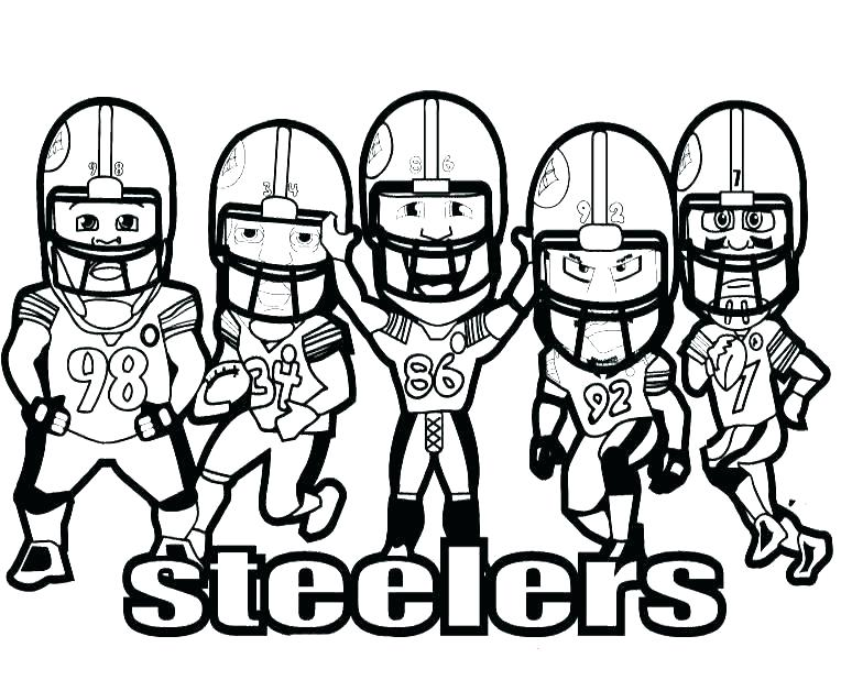 764x628 Football Logo Coloring Pages