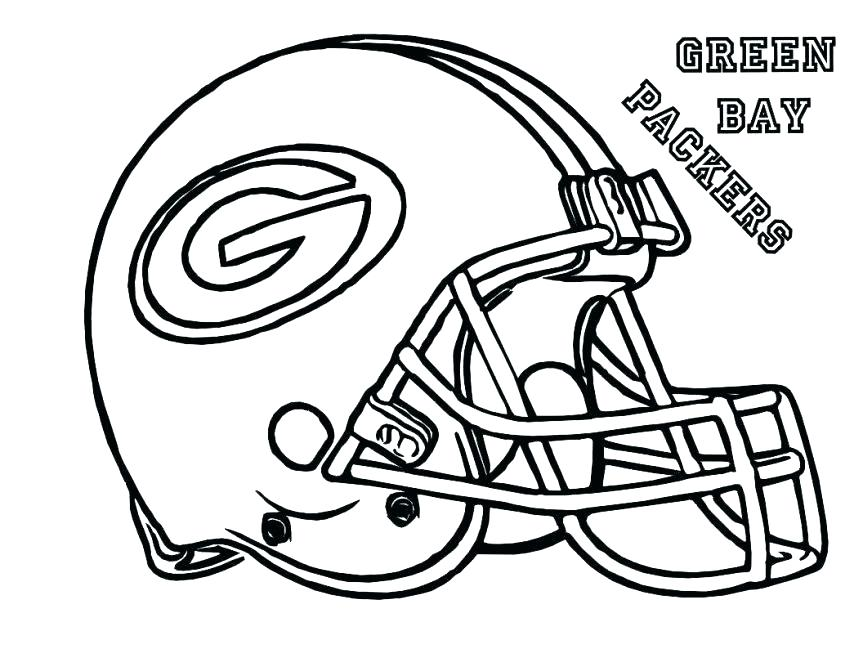 863x667 Football Team Coloring Pages
