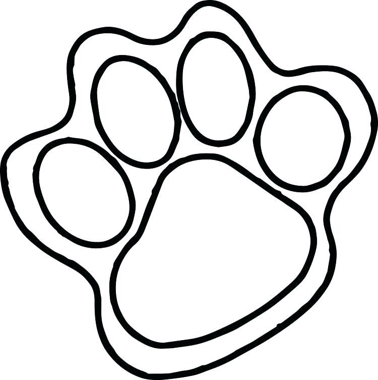 750x753 Footprint Coloring Page Footprints Coloring Page Free Coloring