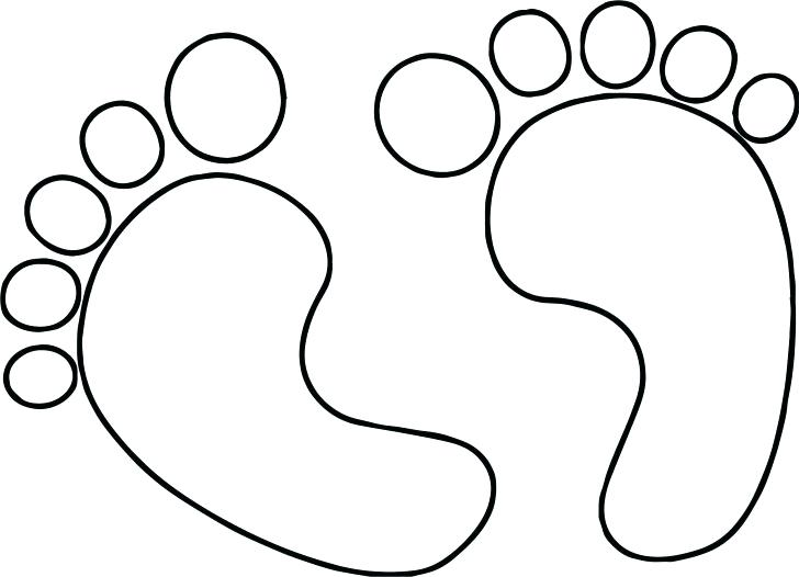 728x526 Footprints Coloring Page Footprint Coloring Page Exciting