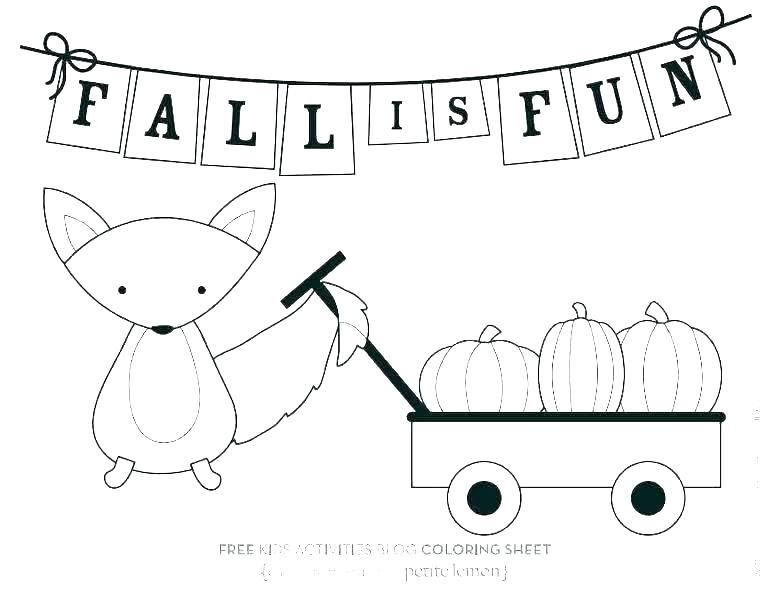 768x591 Coloring Pages Fall Printable Fall Coloring Pages Fall Coloring