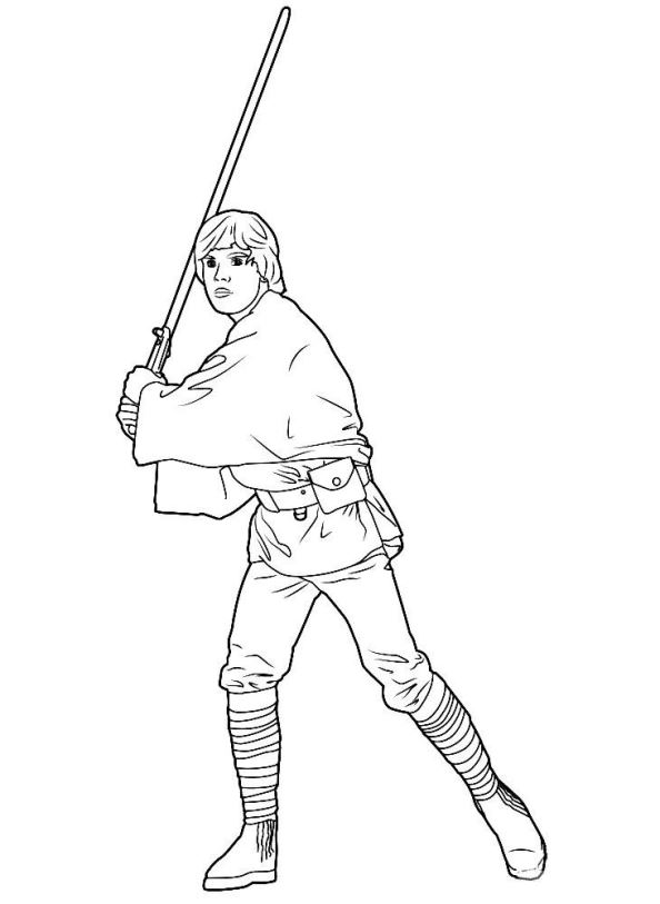 594x813 Kids N Coloring Pages Of Star Wars The Force Awakens
