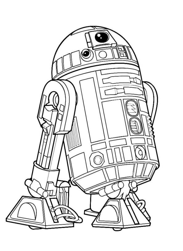 594x813 Star Wars The Force Awakens Coloring Pages
