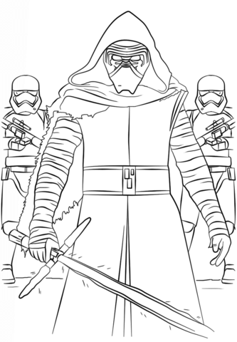 333x480 Star Wars The Force Awakens Coloring Pages