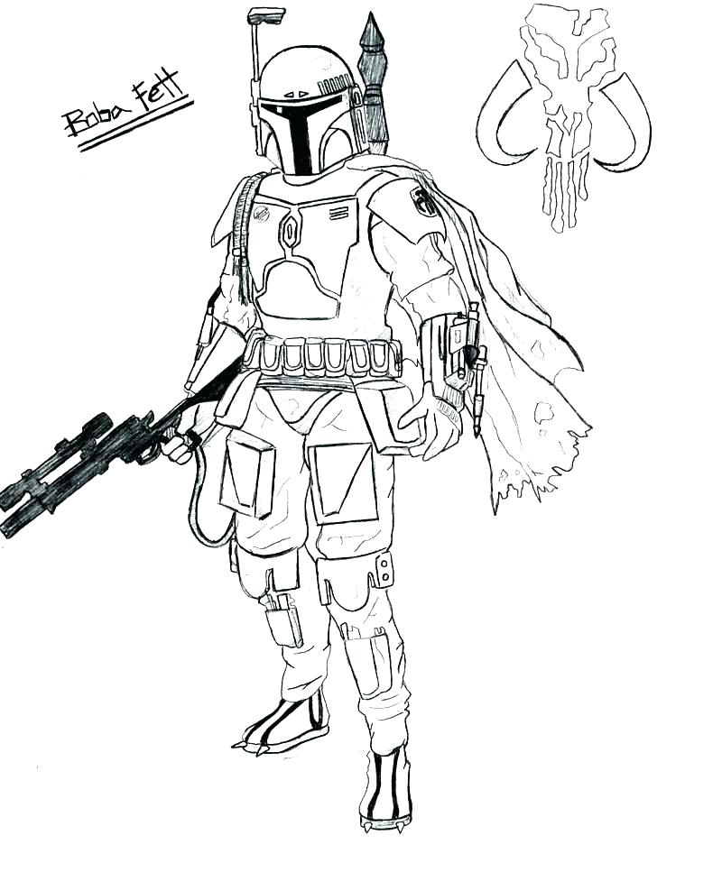 800x967 Coloring Page Star Wars Star Wars Clone Trooper Coloring Pages