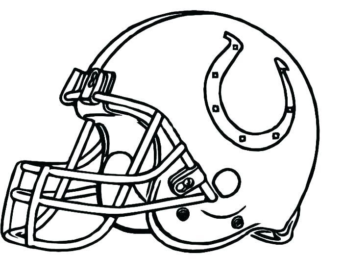 700x571 Broncos Coloring Sheets Broncos Coloring Page Football Helmet
