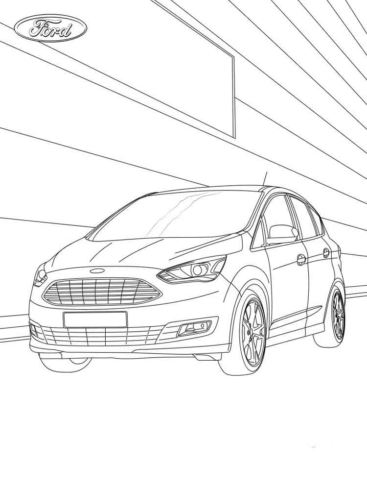 750x1000 Ford Coloring Pages Free Printable Ford Coloring Pages