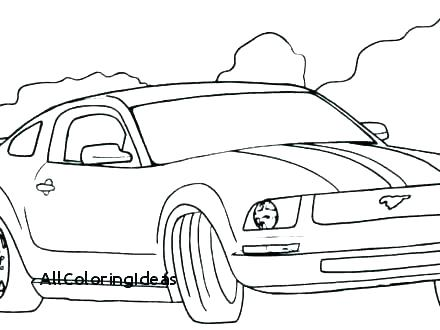 440x330 Mustang Car Coloring Pages Ford Coloring Pages Mustang Car