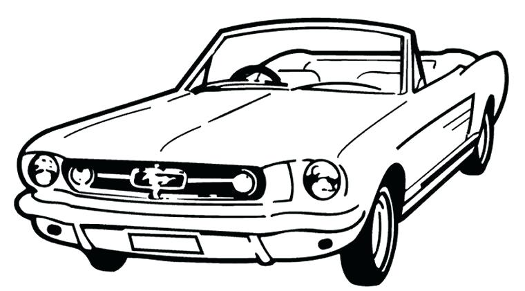 760x421 Mustang Car Coloring Pages Mustang Coloring Page Mustang Car
