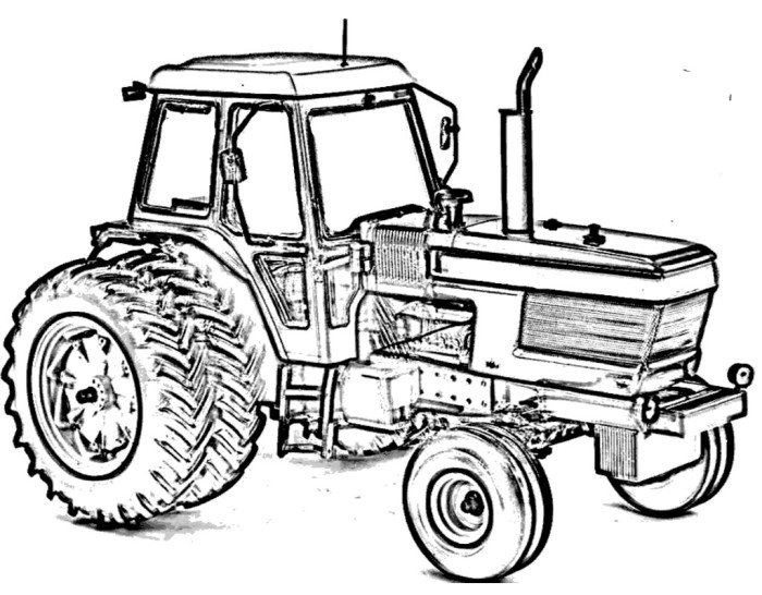 700x546 Tractor Ford Coloring Page Rosies Stuff