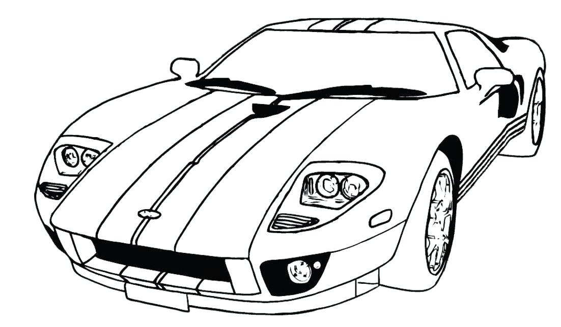 1102x644 Ford Gt Coloring Pages