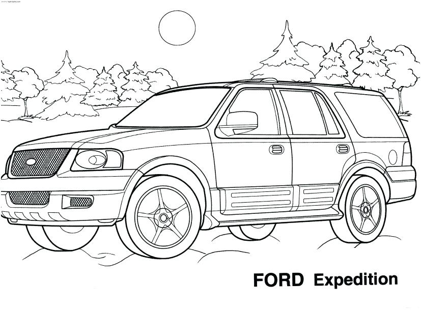 827x609 Ford Coloring Pages Ford Coloring Pages Mustang Colouring Pages
