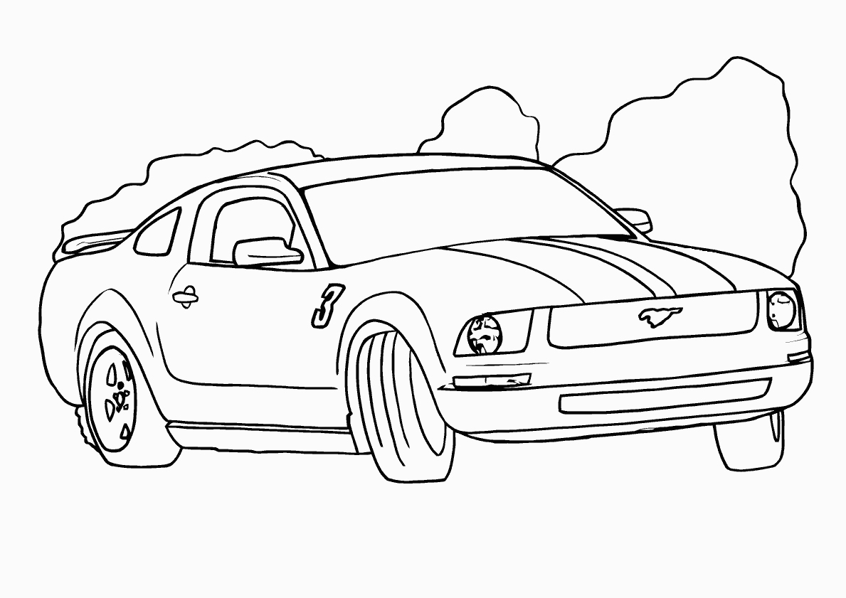 1189x841 Ford Coloring Pages