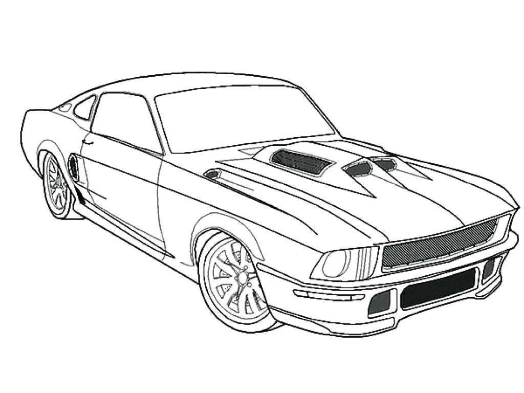 1024x768 Coloring Page Ford Coloring Pages Mustang Free Printable Car