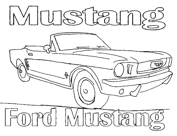 600x464 Ford Coloring Pages Mustang Coloring Pages Ford Coloring Pages