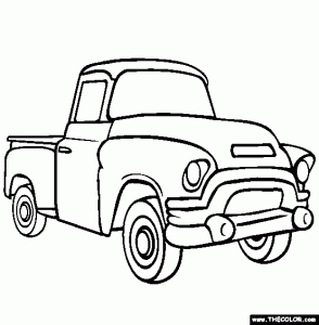 294x300 Ford Coloring Page Printable Coloring Pages Coloring