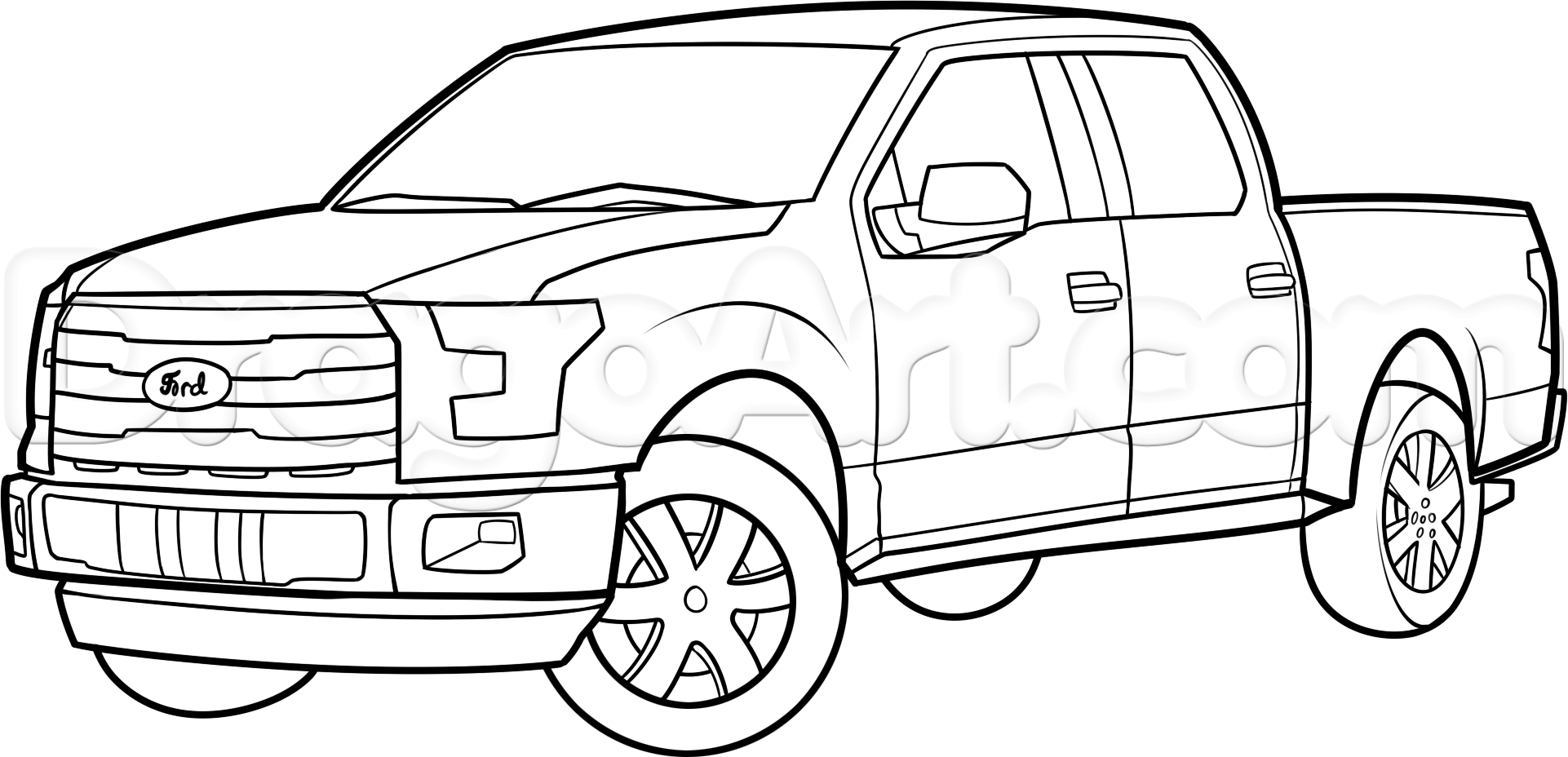 1922x928 Pickup Truck Coloring Pages Cool Ford