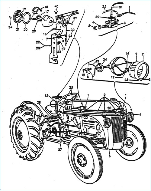 500x631 Wiring Diagram Schematic For Ford Tractor