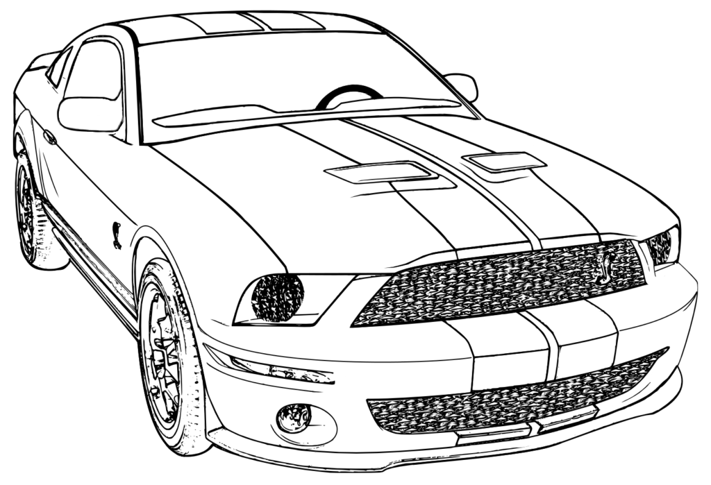 1024x699 Ford Coloring Pages Get Bubbles