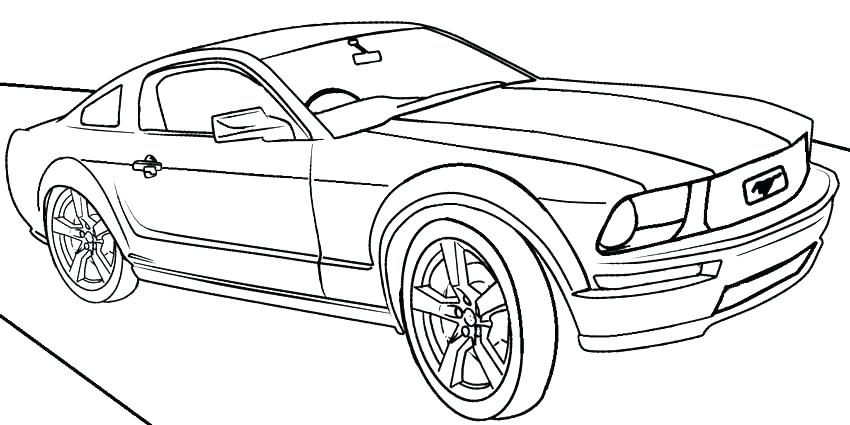 850x425 Ford Gt Coloring Pages Mustang Gt Coloring Pages Ford Mustang Gt
