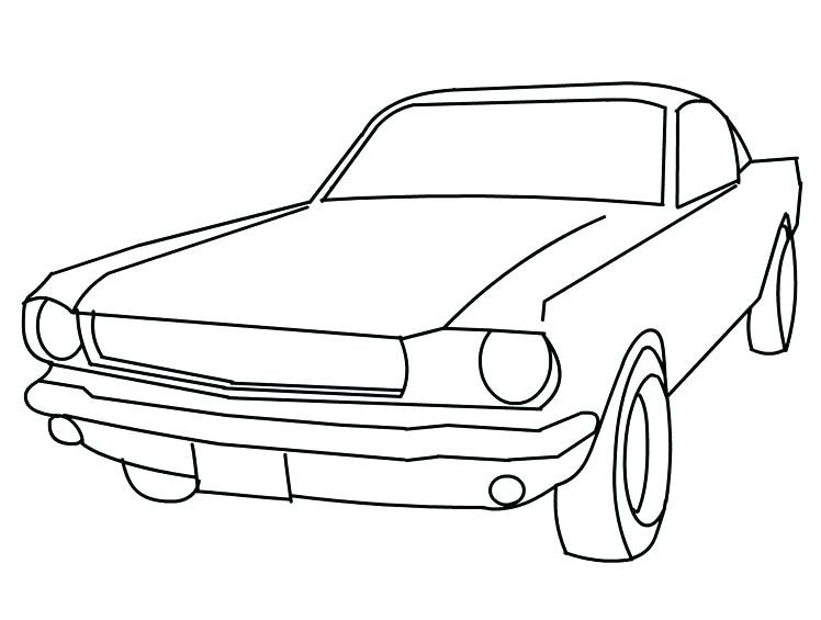 748x565 Ford Mustang Coloring Pages Ford Mustang Car Coloring Pictures