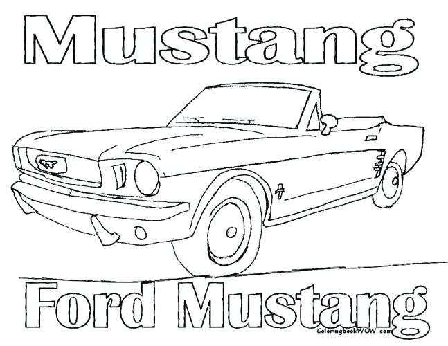 647x500 Ford Gt Coloring Pages