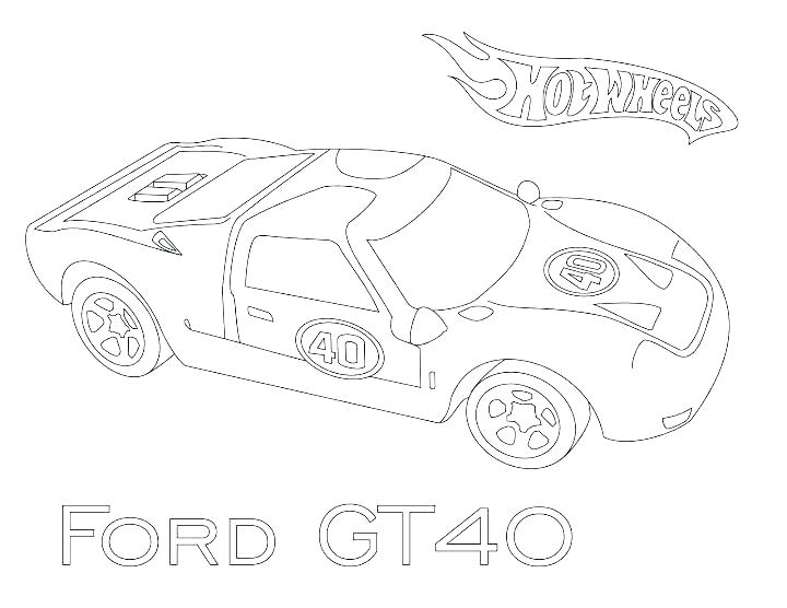 720x556 Ford Gt Coloring Pages