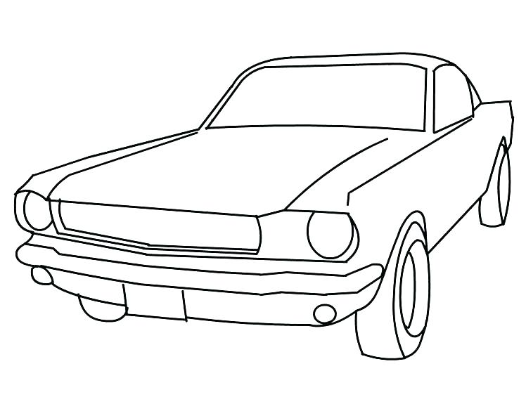748x565 Ford Gt Coloring Pages