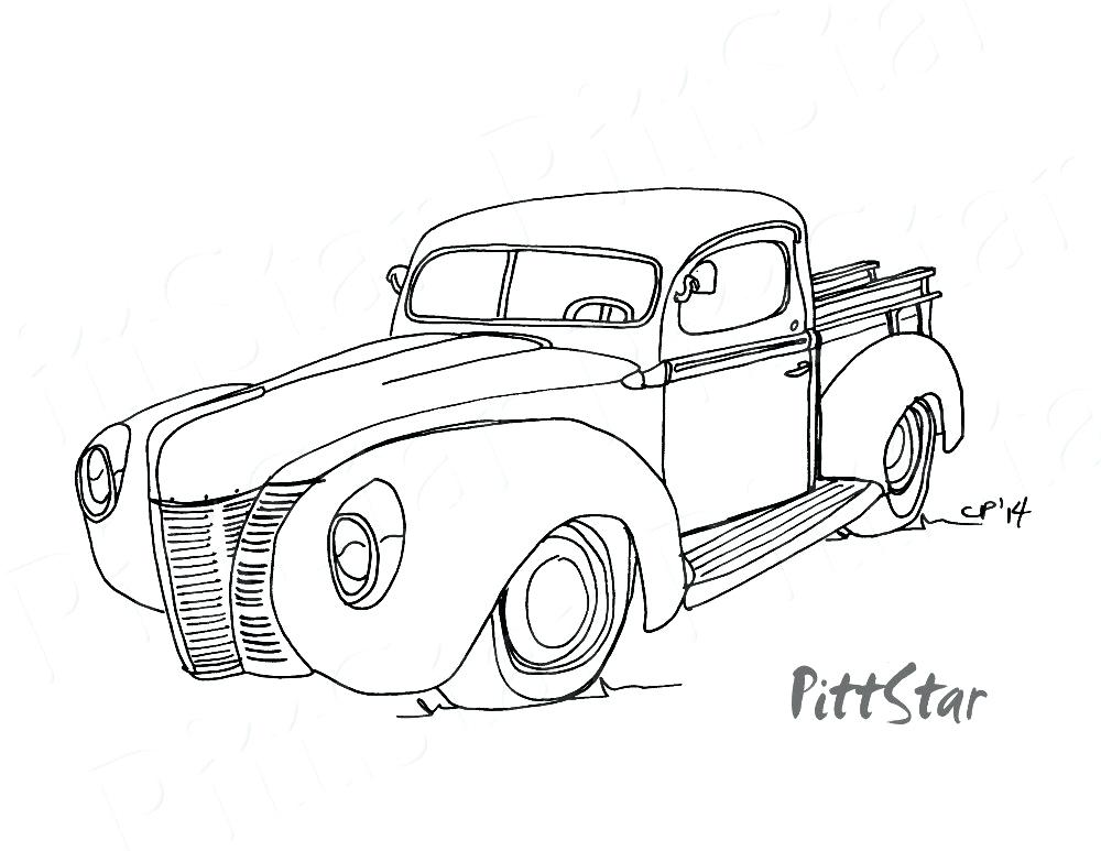 1000x773 Ford Coloring Pages Cars In Coloring Sheets Mustang Coloring Page