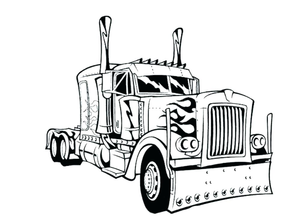 1024x730 Pickup Truck Coloring Pages Large Size Of Trucks Coloring Pages