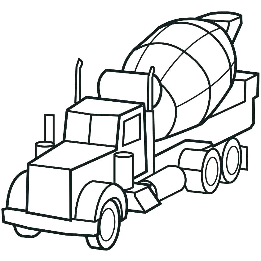 842x842 Trucks Coloring Pages Trucks Coloring Pages Old Truck Coloring