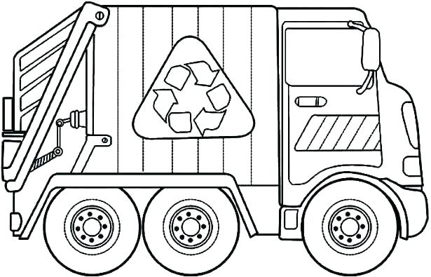 615x395 Coloring Pages Trucks