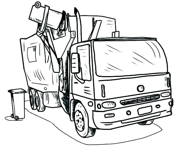 600x498 Coloring Pages Truck Truck Coloring Books Together With Ford
