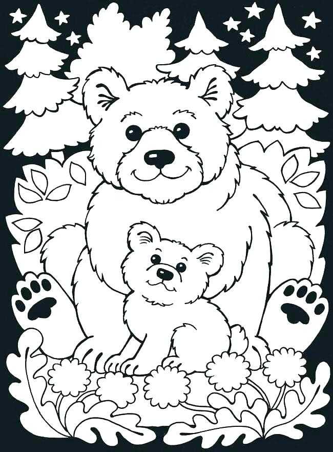 Forest Animals Coloring Pages At Getdrawings Com Free For Personal