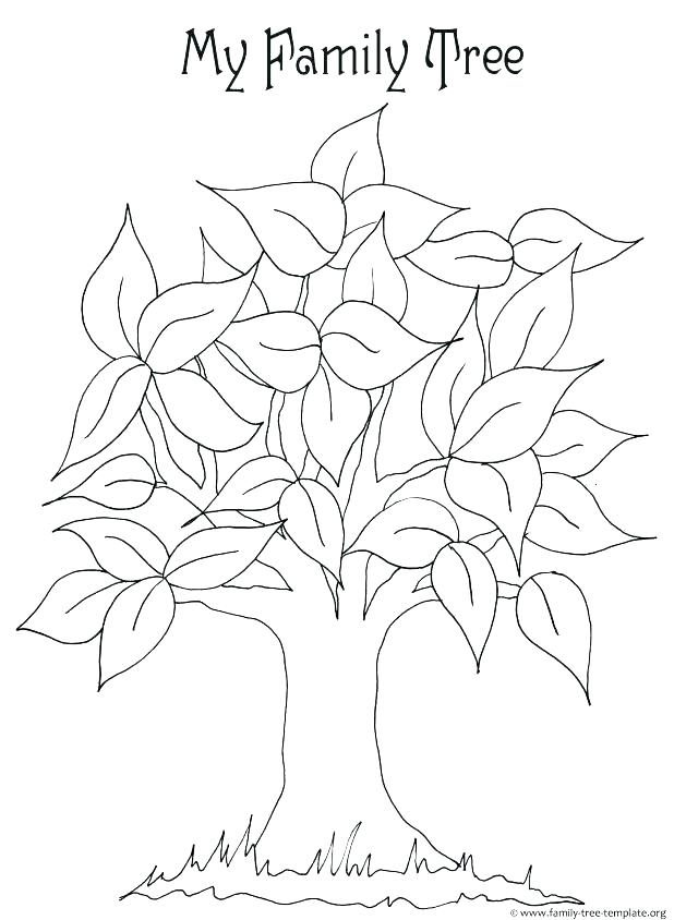 618x844 Trees Coloring Pages