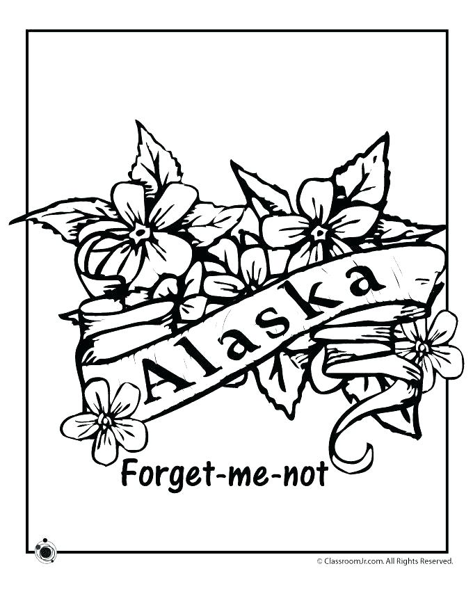 680x880 New York State Flag Coloring Page State Coloring Pages Us Map