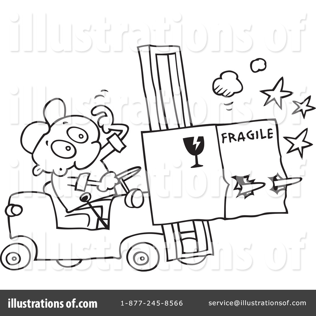 Forklift Coloring Page at GetDrawings | Free download
