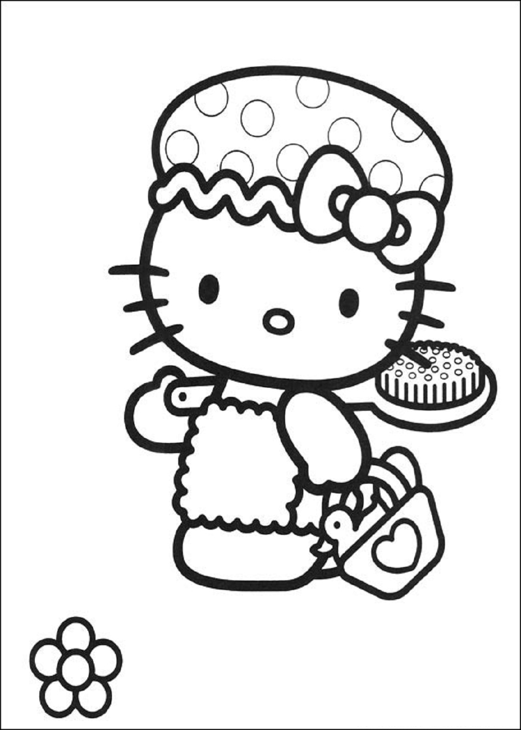 1020x1429 Awesome How To Paint Hello Kitty Plays