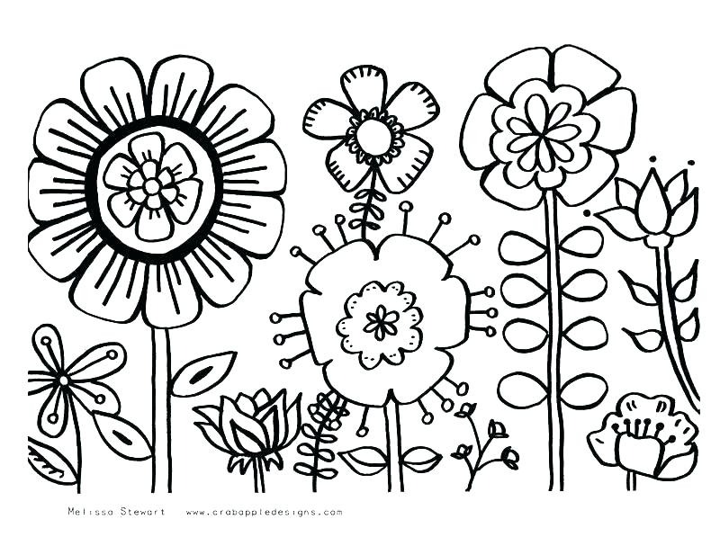 800x617 Seasons Coloring Pages Printable