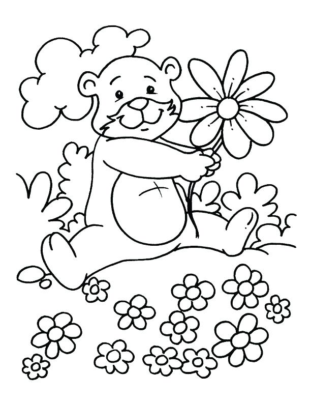 612x792 Season Coloring Pages Lovely Spring Season Coloring Pages Four